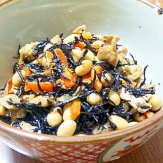 ひじきと大豆の五目煮