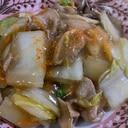 白菜と豚肉のトロトロ炒め煮