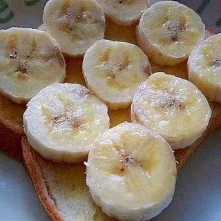 簡単☆バナナトースト