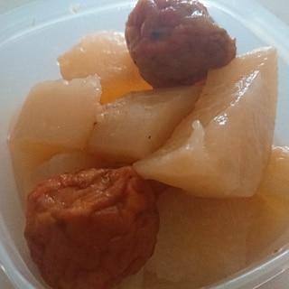 シリコンスチーマーで簡単大根の煮物