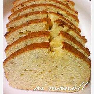 米粉入りバナナパウンドケーキふわふわ♪
