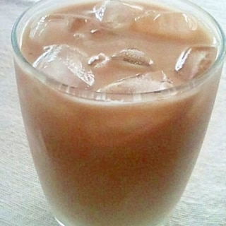 ノンカフェイン!オルゾーラテ風麦茶ラテ