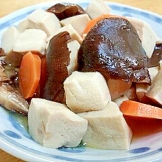栄養満点◎高野豆腐と干し椎茸の煮物