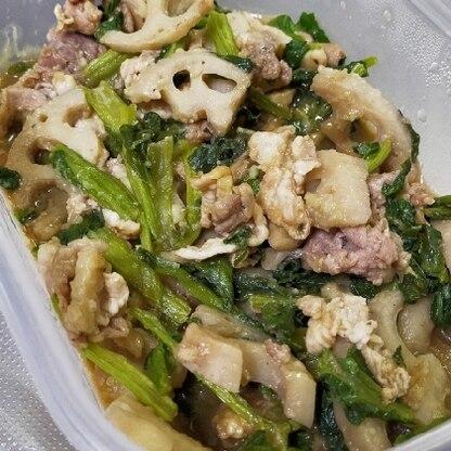 生姜焼きのイメージを覆しました(人 •͈ᴗ•͈)小間切れを代用しましたが、具沢山で、美味しくお野菜もたっぷり食べられました♡