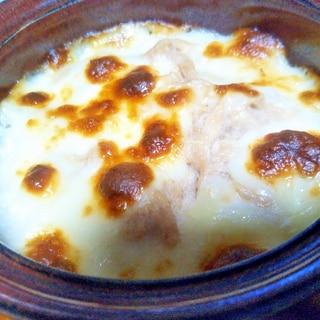 カチョカバロチーズ大和芋ツナグラタン