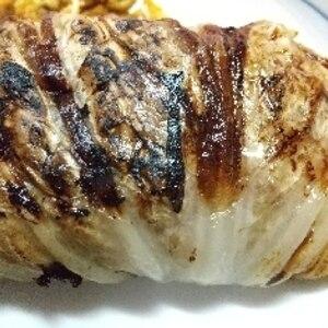 ボリューム満点!簡単白菜ロール