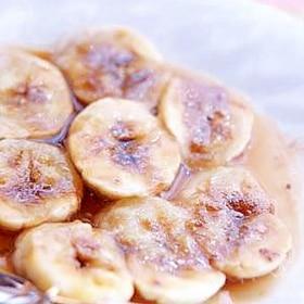 甘酸っぱくて美味しい~バナナの黒糖レモン♪