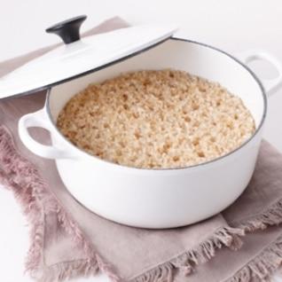 [ル・クルーゼ公式] おいしい玄米の炊き方