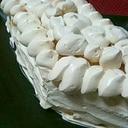 ❤食パンでひな祭りのケーキ❤