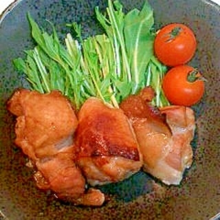 チキンの梅ジャム焼き