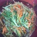 副菜に‼️レンジで簡単‼️水菜とツナの和風煮