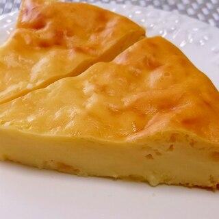 ヨーグルトで作る柚子茶のチーズケーキ