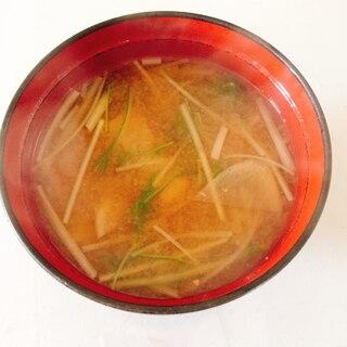 水菜と大根の粕汁