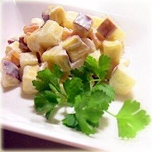 さつま芋とヨーグルトのサラダ