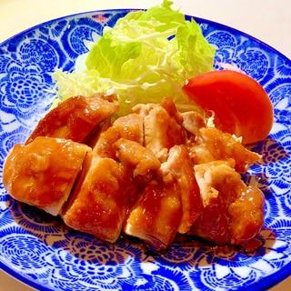 失敗なし!!麺つゆで作る簡単鶏の照り焼き