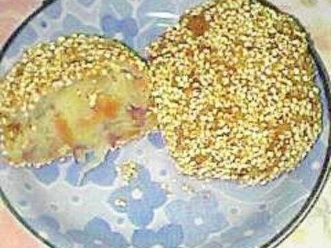 さつま芋入り雑穀コロッケ お弁当にも♪