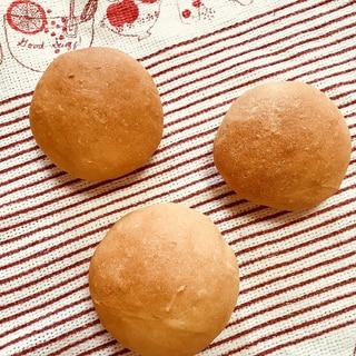 バター不使用☆シンプル丸パン