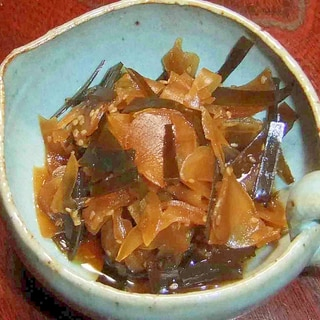 新生姜と昆布の佃煮