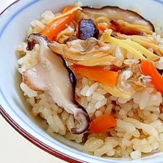 超簡単!冷凍アサリの炊き込みご飯