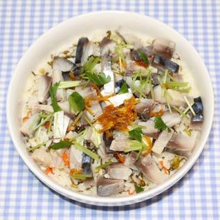 簡単絶品☆しめ鯖と乾燥カブのひつまぶし風かぶら寿司
