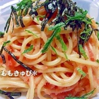 簡単☆大好き♪ たらこスパゲティ~
