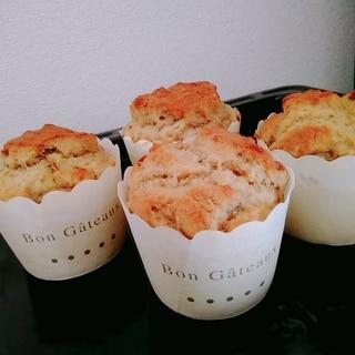 米粉とお豆腐のバナナマフィン