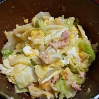 塩麹レモンドレッシングでやみつきキャベツサラダ