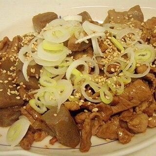 ご飯もりもり★蒟蒻と豚小間の甘辛炒め