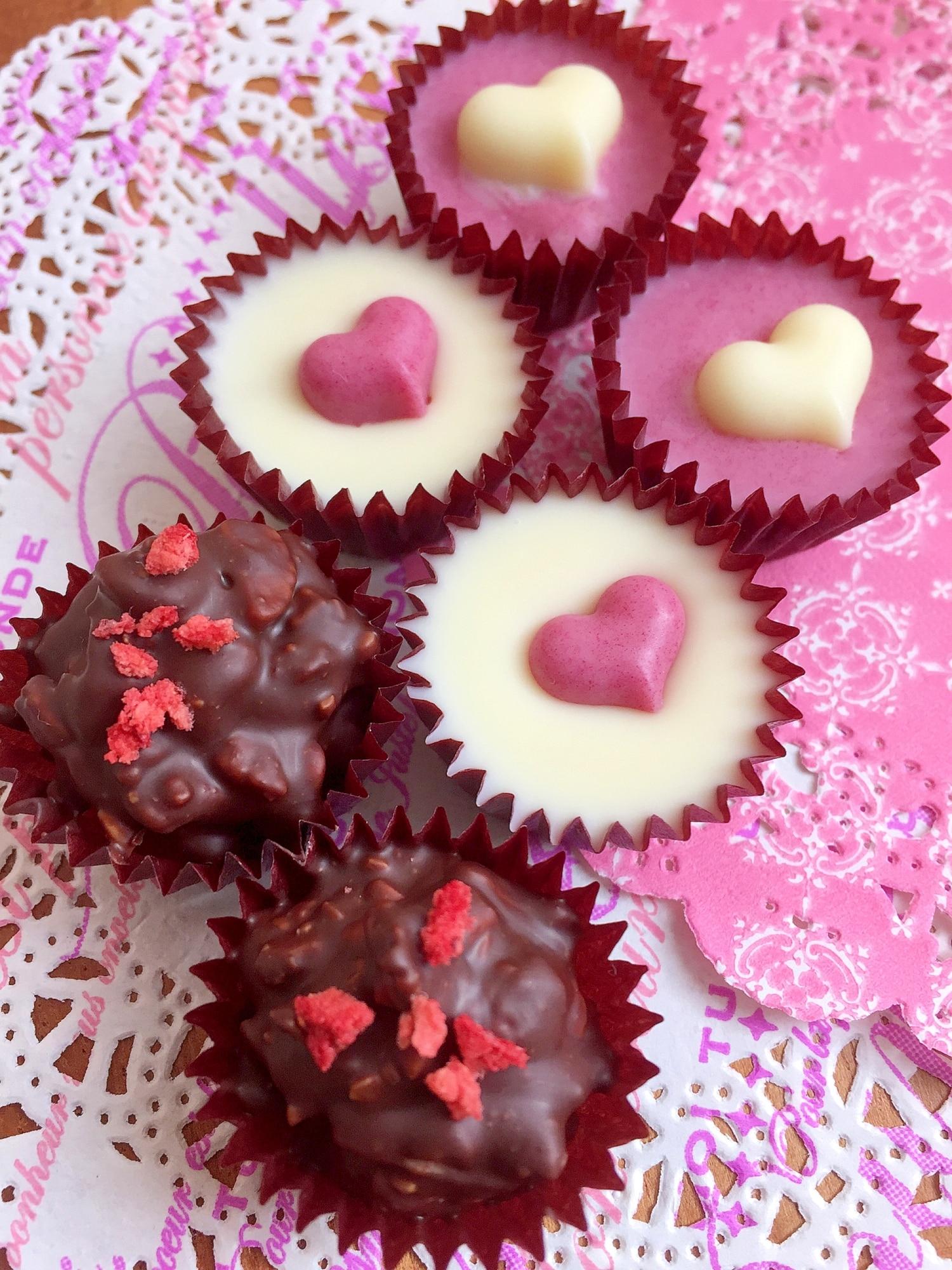 チョコ 簡単 バレンタイン