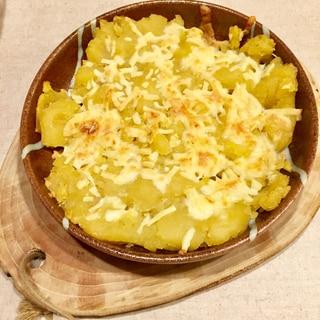 きんとんのチーズ焼き!チーズの塩味が絶妙
