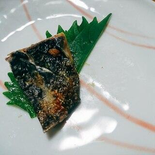 カマスの焼き魚