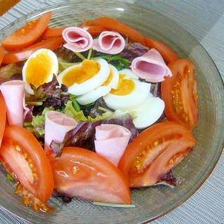 ♥ レタス&三つ葉&ゆで卵のサラダ ♥