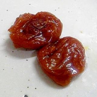 すっぱい干し梅を食べやすく変身♪はちみつ干し梅