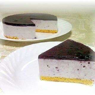 夏に嬉しい♪フルーチェ&ヨーグルトのババロアケーキ