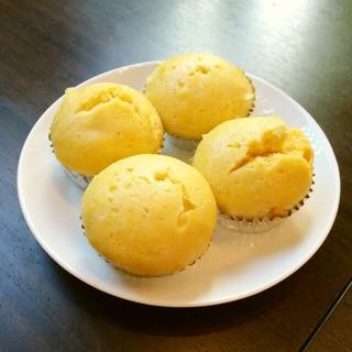 卵、油不使用、野菜のおやつ♡カボチャ蒸しパン