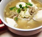 具沢山!!豆腐中華スープ