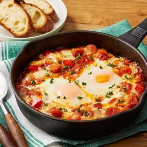 トースターで簡単★卵とろ〜り!フラメンカエッグ