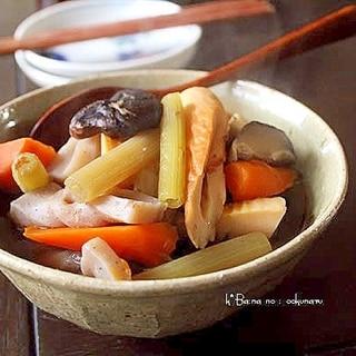 春野菜の煮しめ