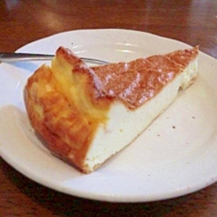 粉を使わない低糖質べイクドチーズケーキ