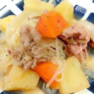 冷凍ポテトde(^^)子供が喜ぶカンタン肉じゃが♪