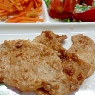 醤油麹で簡単☆豚の生姜焼き