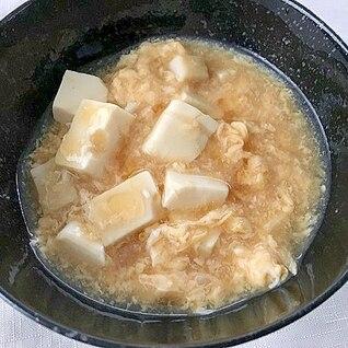 豆腐と卵の中華風とろみあんかけ