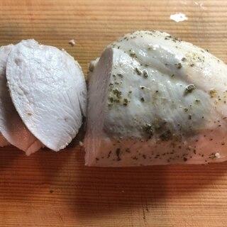 簡単!レモンハーブのサラダチキンの作り方