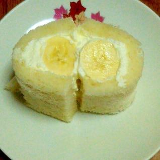 食パンで作るバナナロールサンド