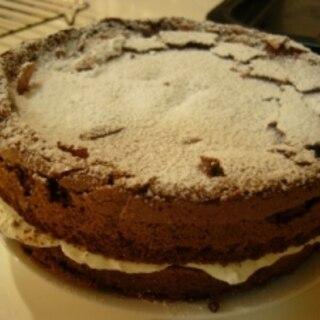 小麦粉、バター無し とろける濃厚チョコレートケーキ
