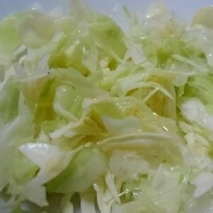 千切りキャベツの美味しい食べ方(^^)