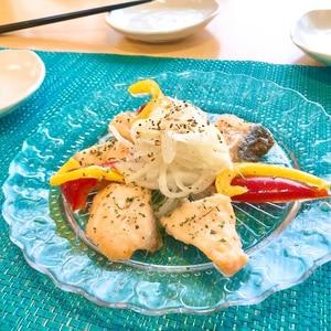 調味料1つで!鮭のうま味マリネ