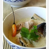 トム・カー・ガイ(タイ風鶏肉のスープ)