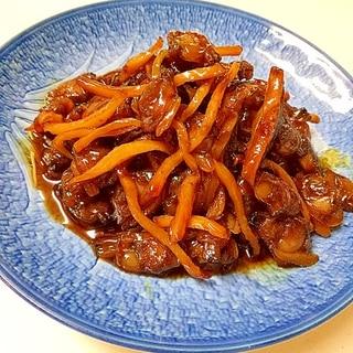 冷凍アサリの簡単佃煮
