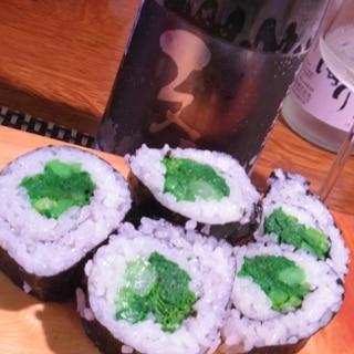 おうち居酒屋、菜の花巻き寿司